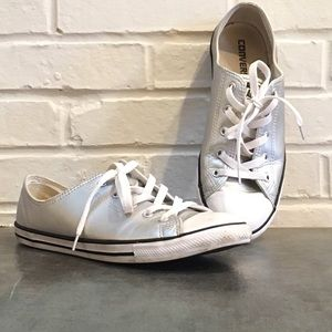 Converse chuck Taylor dainty metallic low Women 10